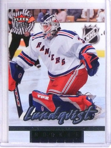 2005-06 Fleer Ultra Henrik Lundqvist rc rookie #269  *69049