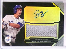 2016 Topps Triple Threads Corey Seager autograph auto jersey #D44/75  *69302
