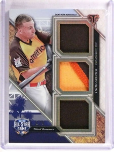 2017 Triple Threads Todd Frazier All-Star Game Patch #D1/9 #ASP-TF *69241