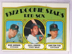 1972 Topps Carlton Fisk rc rookie #79 VG-EX *69261