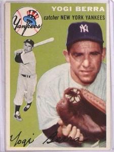 1954 Topps Yogi Berra #50 VG-EX *69229