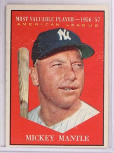 1961 Topps MVP Mickey Mantle #475 VG *69275