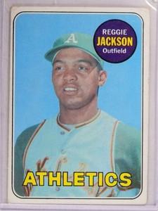 1969 Topps Reggie Jackson rc rookie #260 VG *69280