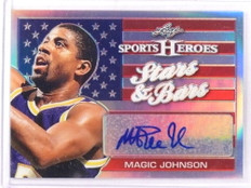 2017 Leaf Metal Sports Heroes Stars Bars Magic Johnson autograph auto *69285