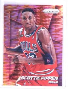 2014-15 Panini Prizm Red Pulsar Scottie Pippen #D13/25 #218 *69152