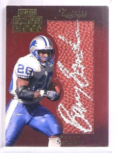 1999 Absolute Boss Hogs Barry Sanders autograph auto #BH10 *69227