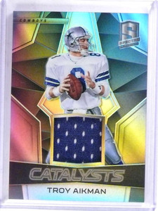 2017 Panini Spectra Catalysts Troy Aikman jersey #D129/199 #12 *69186