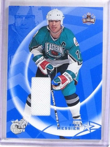 2002-03 Be A Player BAP All-Star Edition Mark Messier jersey #AS-58 *69130