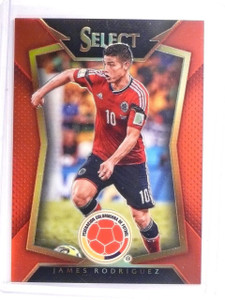 2015 Select Soccer James Rodriguez Prizm Red #D172/199 #77 *52590