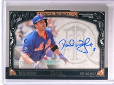 2016 Topps Museum Collection Archival David Wright autograph auto #D12/50 *69431