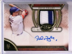 2015 Topps Tier One David Wright autograph auto patch #D77/99 *69433
