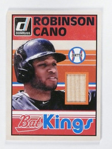 2014 Donruss Bat Kings Robinson Cano bat #4 *48126