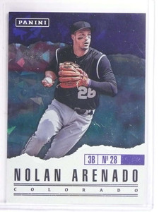 2017 Panini Father's Day Cracked Ice Nolan Arenado #D22/25 #30 *69515