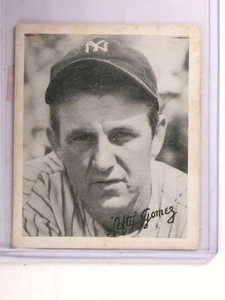 1936 Goudey Black and White Lefty Gomez GD *69369