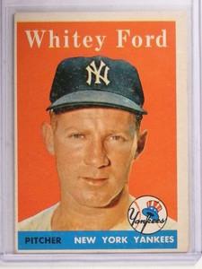 1958 Topps Whitey Ford #320 VG-EX *69378