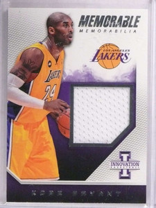 2013-14 Panini Innovation Memorable Kobe Bryant jersey #D26/299 #20 *69349