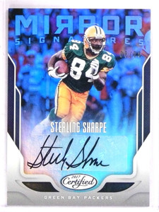 2017 Certified Mirror Signatures Sterling Sharpe autograph auto #d08/25 *69313