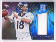 2013 Panini Spectra Blue Peyton Manning jersey #D96/99 #62 *69350