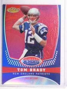 2008 Topps Finest Moments Refractor Tom Brady #D103/149 #TB1 *69556