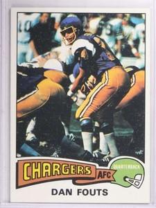 1975 Topps Dan Fouts #367 EXMT *69365
