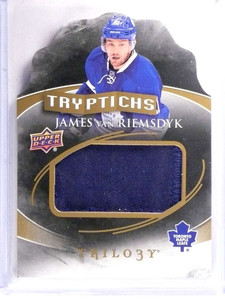 2015-16 Upper Deck Trilogy Tryptichs James Van Riemsdyk patch #D05/50 *69467