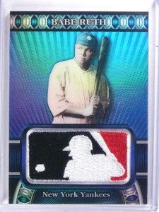 2010 Topps Manufactured MLB Logoman Babe Ruth #D36/50 #LM6 *59691