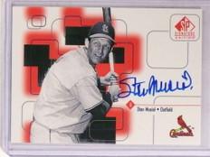 1999 Sp Signature Edition Stan Musial autograph auto #SM *69652