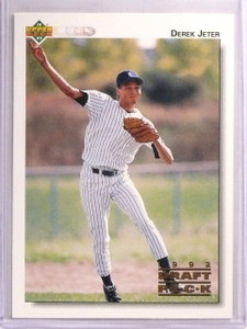1992 Upper Deck Minors Derek Jeter rc rookie #5 *55667