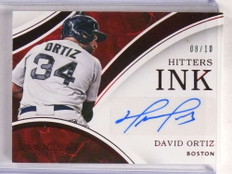 2016 Panini Immaculate Hitters Ink Red David Ortiz autograph auto #D08/10 *69679 ID: 16616