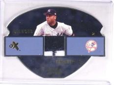 2003 EX Diamond Essentials Derek Jeter 2 color patch #D42/55 #DEGU-DJ *69716 ID: 16654