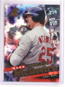 1998 Pinnacle Inside Diamond Edition Mark Mcgwire  #40 *69766 ID: 16675