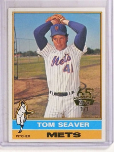 2017 Topps 65th Anniversary Gold Tom Seaver #D 1/1 *69799 ID: 16680