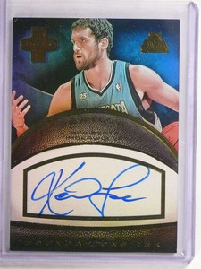 2013-14 Panini Innovation Foundations Ink Kevin Love autograph auto #D5/5 *69687 ID: 16686