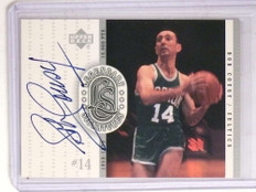 2000 Upper Deck Legends Legendary Signatures Bob Cousy autograph auto  *69706 ID: 16689