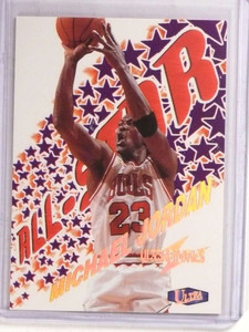 1997-98 Fleer Ultra Ultrabilities All-Star Michael Jordan #1of20AS *69712 ID: 16695