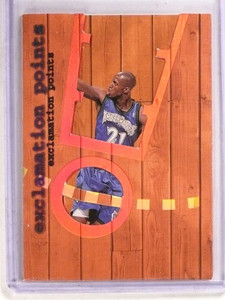 1998-99 Fleer Ultra Exclamation Points Kevin Garnett #10 *69717 ID: 16696