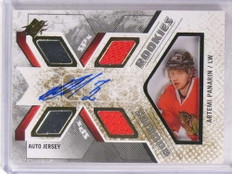 2015-16 SPX Artemi Panarin autograph auto jesey rc rookie #D246/399 #170 *69672 ID: 16736