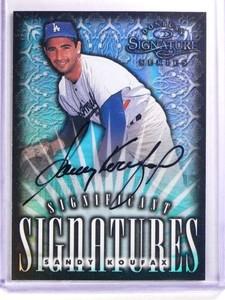 1998 Donruss Signature Significant Sandy Koufax autograph #D1860/2000 *69967