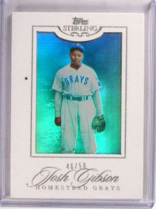 2006 Topps Sterling White Suede Josh Gibson #D46/50 #42 *69810