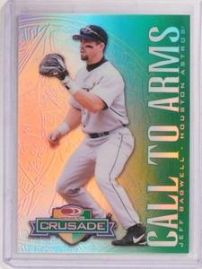 1998 Donruss Crusade Green CTA Jeff Bagwell #d170/250  *69874