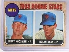 1968 Topps Nolan Ryan rc rookie #177 EX METS *69960
