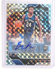 2016-17 Panini Prizm Mosaic Refractor Buddy Hield autograph auto rc #10 *69910