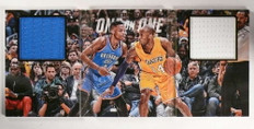 2015-16 Preferred Russell Westbrook Kobe Bryant jersey book #D90/99 *69880