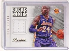 2013-14 Panini Prestige Bonus Shots Kobe Bryant jersey #50 *69922