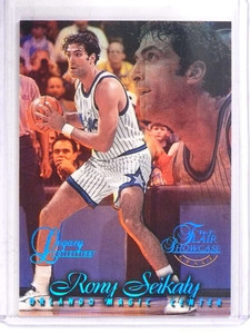 1996-97 Flair Showcase Row 1 Legacy Rony Seikaly #D70/150 #67 *69833