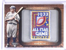 2009 Topps Legends Commemorative Patch Babe Ruth All Star #LPR60 *61825