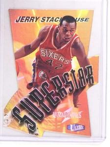1997-98 Fleer Ultra Superstar Ultrabilities Jerry Stackhouse #19of20ss *69871