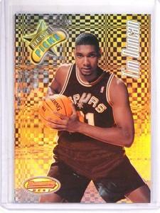 1997-98 Bowman's Best Picks Refractor Tim Duncan rookie rc #bp8 *69872