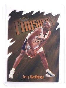 1997-98 Topps Finest Embossed Diecut Jerry Stackhouse  #157 *69905