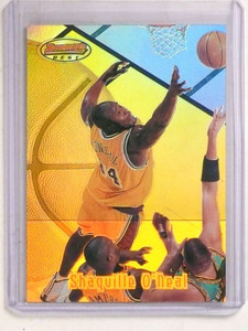 1997-98 Bowman's Best Refractor Shaquille O'neal #28 *69911